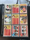 Lot Of 532 Topps 1969 Baseball Cards High Numbers Etc Rookies nr mint to mint
