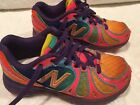 Girls New Balance Running Shoes Youth US Size 11 Multi Color