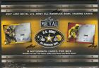 2017 Leaf Metal US Army All-American Football Factory Sealed Hobby Box