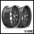 20 XO ATHENS GLOSS GUNMETAL LIP WHEELS RIMS FITS PONTIAC G8 GT