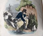 The Happy Children 1849 Victorian childrens book hand colored illustrations