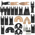 24pcs Quick Change Oscillating Multi Tool Saw Blades For Fein Makita Bosch Tools