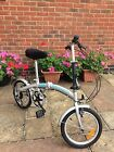 Pair of folding bikes proteam silver hardly used excellent condition
