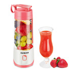 KUWAN Electric Fruit Juicer Mini Rechargeable portable Blender with USB Charging