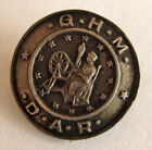 Vintage Sterling Silver DAR Daughters of the American Revolution GHM Lapel Pin