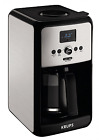 KRUPS EC3140 Savoy Programmable Digital Coffee Maker Machine with Stainless Stee
