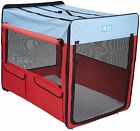 Guardian Gear Collapsible Folding Soft Portable Dog Crate XL for Extra Large