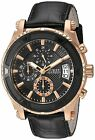 GUESS Mens U0673G5 Dressy Rose Gold-Tone Stainless Steel Watch with Chronograph