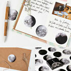 45Pcs Set Mini Moon Paper Sticker Sticky Note Notebook Diary Scrapbooking DIY