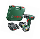 Bosch PSB 1800 LI-2 Soft Grip Cordless Combi Drill w/ 2 18V Lithium-Ion Battery