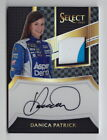 2017 Select Racing Danica Patrick Black Prizm Sheet Metal On Card Auto (1 1)