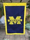University of Michigan Wolverines 2 Sided Big House Flag Banner 44x27 Ann Arbor