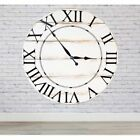 BrandtWorks American Charm Oversized Wall Clock