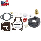 FOR BRP OMC SysteMatched Johnson Evinrude 15 HP Carburetor Carb Kit 1974 1988