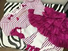 Gymboree infant girls 18 24 month adorable tutu with attached tights and matchin