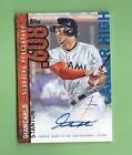 GIANCARLO STANTON 2015 TOPPS CAREER HIGH Autograph Auto Signed MIAMI MARLINS