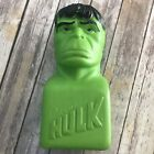 Vintage Incredible Hulk Coin Money Bank Plastic 15 Inch 1978 Marvel Comics Group