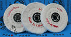 4'' 100mm Cloth Polishing Buffing Wheel Disc 4/10/12/16mm Bore For Angle Grinder