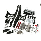 One Touch Opening Saddlebag Latch Lids Hardware Cover Kit For Harley 2014 2018