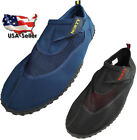 Norty Mens Big Sizes 13 15 Water Wave Aqua Sock Shoe Pool Beach Surf Slip On