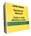 310 A John Deere Backhoe Technical Service Shop Repair Manual
