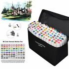 Markers 80 Color Art Drawing Twin Tip 85 Holds Pen Holder For Copic Touch Five