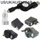 Retractable micro usb charger for Samsung Galaxy Teos Focus I917 I9268 car
