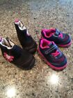 Girls Youth Pediped Shoes And Boots Size 20 21 Pink Cute