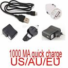 micro usb wall car charger for Samsung D710Epic 4G Touch 6102 580 xn
