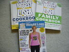 THE BIGGEST LOSER Lot 3 Books PREVENTION WEIGHT LOSS PLANNER FAMILY COOKBOOK