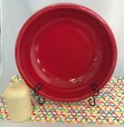 Fiestaware Scarlet Pasta Bowl and Ivory Cheese Shaker Set Fiesta Serving Set