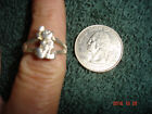 Vintage Disney Figural Mickey Mouse Marked Sterling Ring