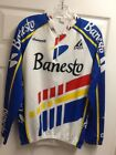 Mens ZARA Campagnolo BANESTO Long Sleeve Racing Cycling Jersey Sz L