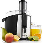 VonShef Professional Powerful Wide Mouth Whole Fruit Juicer Machine 700W Max Pow