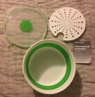 Weight Watchers Food Storage Collapsible Microwave Steamer Lunch Bowl Container