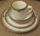 NORITAKE STONEWARE CHAPARRAL #8482 4-PIECE PLACE SETTING, MOSAIC BORDER, RETIRED