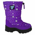 Storm Kidz Kids Snow Boots Cold Weather Snow Boots Puffy Toddler Big Kid