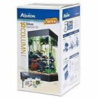 NEW All Glass Aquarium AAG17004 15column Black Deluxe Kit FREE SHIPPING