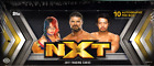 2017 TOPPS WWE NXT WRESTLING TRADING CARDS HOBBY SEALED BOX 10 AUTOGRAPHS