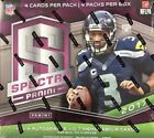 2017 Panini Spectra Football Factory Sealed Hobby Box