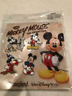 Disney Pin Mickey Mouse Booster Collection 4 Pin Set Sorcerer Steam Boat Willie