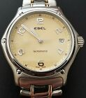 Ebel 1911 Stainless/18K Gold Link Automatic Men's Watch. Excellent