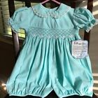 18 Month NWT Remember Nguyen Turquoise Short Romper