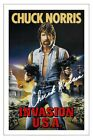 CHUCK NORRIS SIGNED PHOTO PRINT AUTOGRAPH INVASION USA