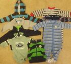 Infant Boys Size 6m Clothing Lot x 7 Carters Brand
