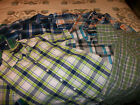 Boys Wrangler short sleeve button up western shirts size L 10 12 lot of 6