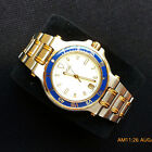 Gucci 9700M 18 KGP Two Tone Men's Watch in Excellent Condition - 35 mm