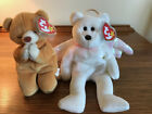 Beanie Babies, Halo Bear and Hope Bear, Pair of Two