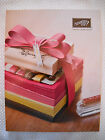MINT Stampin Up IDEA BOOK  CATALOG 2012 2013 cardmaking stamps tags scrapbook