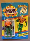 SUPER POWERS AQUAMAN UNOPENED ACTION FIGURE 1985 BY KENNER